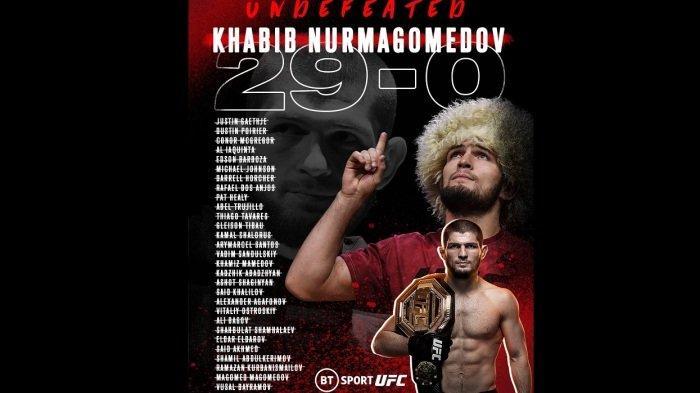 Khabib Nurmagomedov Umumkan Pensiun dari MMA: Janji ke Ibu, Tak Terkalahkan Dalam Duel 29 Kali