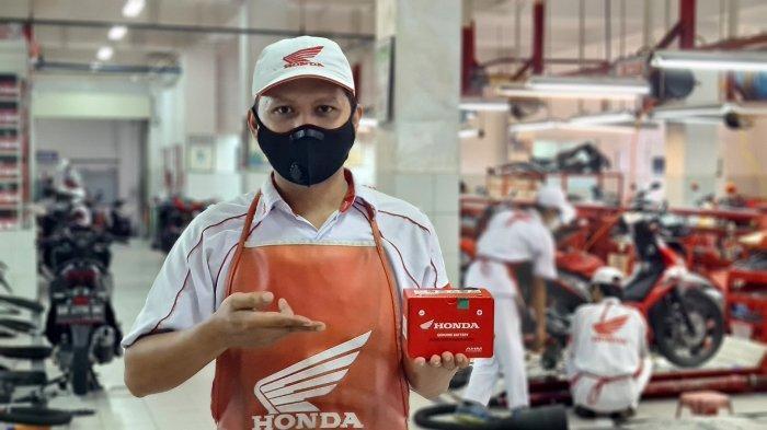 Astra Honda Motor Beri Tips Biar Kinerja Aki Bisa Optimal, Perhatikan Empat Hal Ini