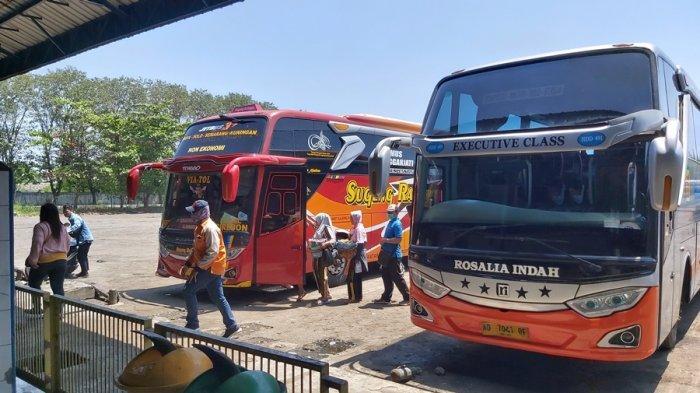 Data Terminal Kota Tegal: Kedatangan Penumpang dari Jakarta Masih di Bawah Angka Normal