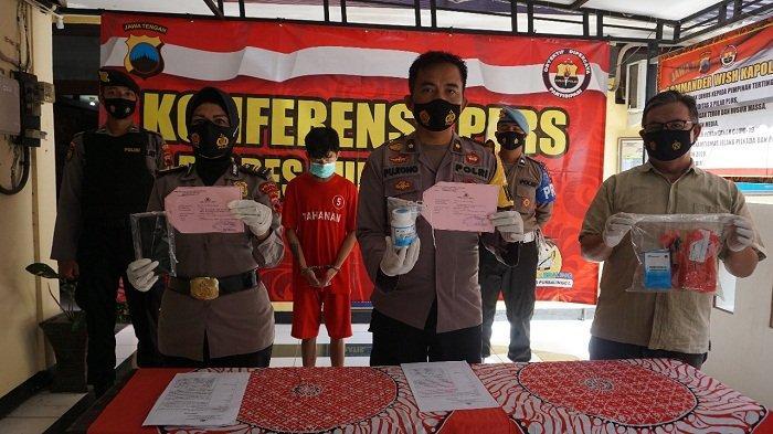 Pemuda di Rembang Purbalingga Diamankan saat Ambil Paket, Isinya 1000 Pil Hexymer yang Dibeli Online