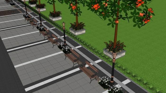 Alun-alun Purwokerto Bakal Direnovasi, Pedestrian Sisi Timur dan Barat Diperlebar 6 Meter
