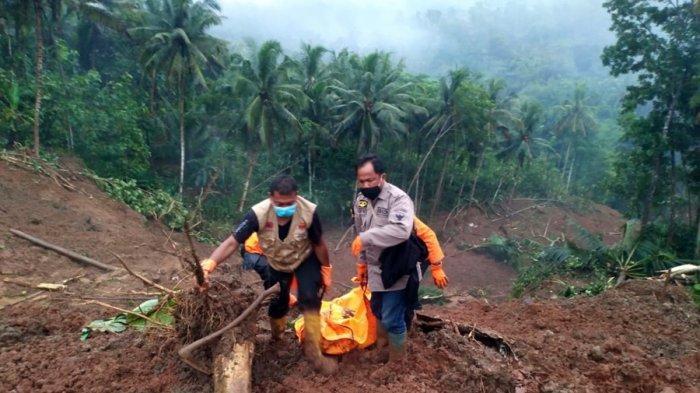 Begini Kronologi Longsor Padureso Kebumen, Pencarian Dua Korban Masih Dilakukan, Terkendala Cuaca