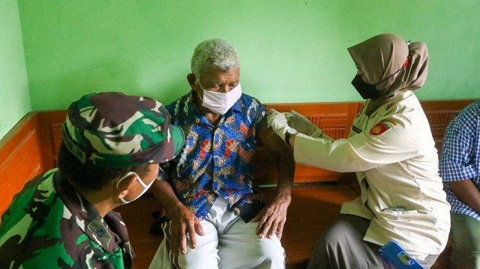 Korem 071 Wijayakusuma Banyumas Datangi Lansia dari Rumah ke Rumah untuk Percepat Capaian Vaksinasi
