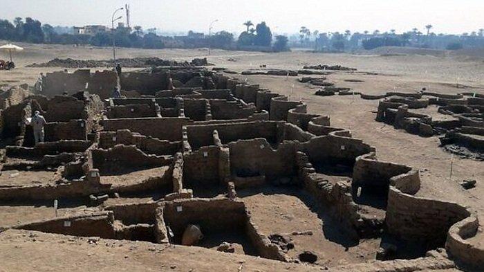 Kota Kuno 3000 Tahun Lalu Ditemukan di Luxor Mesir, Punya Distrik Industri dan Permukiman
