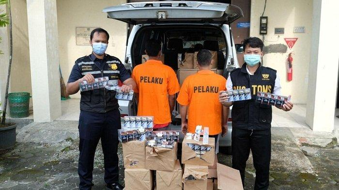 Temukan Tempat Penimbunan di Troso Jepara, Bea Cukai Kudus Amankan 1,5 Juta Batang Rokok Ilegal