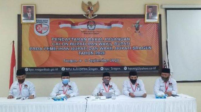 PKS dan Gerindra Belum Mendaftar, KPU Sragen Perpanjang Pendaftaran Baspalon Kepala Daerah