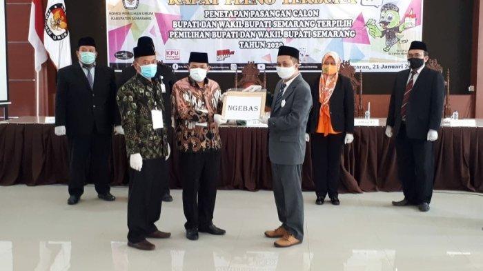 Sah, Pasangan Ngebas Calon Bupati dan Wakil Bupati Terpilih Kabupaten Semarang Periode 2021-2026