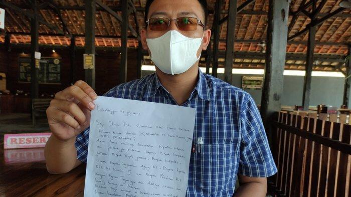 Elmiai Iteh Minta Keadilan Hukum, Merasa Dikriminalisasi oleh Polres Purbalingga, Asal Muasalnya Ini