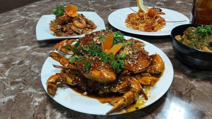 Kepiting Telur Saos Tiram, Gurihnya Tak Lagi Diragukan, Cobalah di BG Kitchen dan Lounge Kota Tegal