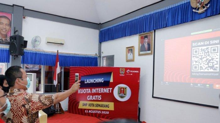 Gandeng Telkomsel, Tersedia 37 Ribu Paket Data Internet Gratis Bagi Siswa SMP di Kota Semarang