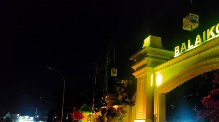 Kurangi Aktivitas Warga Saat Malam Hari, Lampu Penerangan Jalan Kota Tegal Kembali Dipadamkan