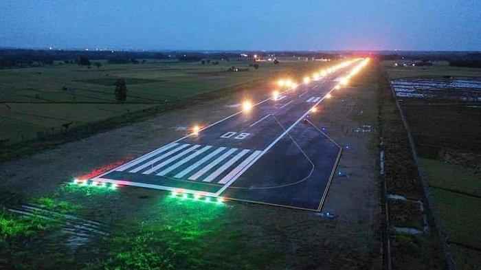Tak Hanya Pesawat Komersial, Bandara Ngloram Blora Juga Melayani Penerbangan Jet Pribadi