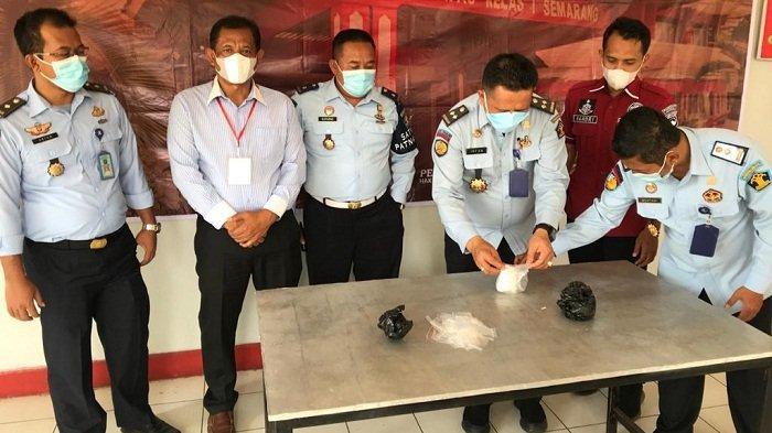 Petugas Lapas Semarang Temukan Bungkusan Dilakban di Branggang, Saat Dibuka Ada Sabu 100 Gram