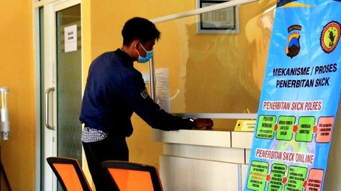Paling Lama Satu Jam Urus SKCK di SPKT Polres Pemalang