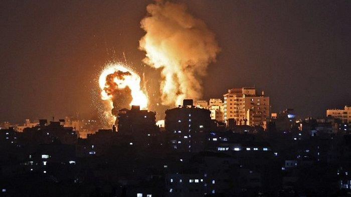 Israel Dapat Serangan Balik, 3 Roket Meluncur dari Wilayah Suriah. Perang Dikhawatirkan Meluas
