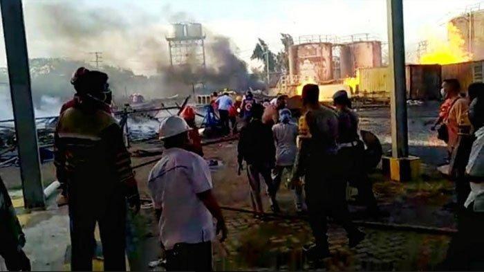 Ledakan Keras Seperti Suara Bom, Kebakaran Pabrik Bioethanol di Mojokerto, Begini Kesaksian Warga