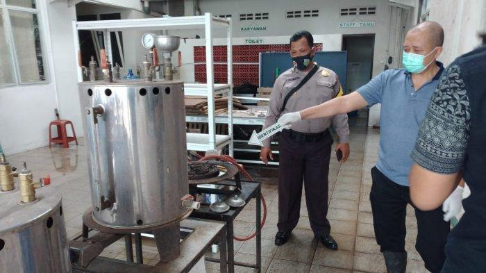 Dua Karyawan Terkena Serpihan Kaca, Begini Kronologi Ledakan Mesin Boiler Garmen di Banyumas