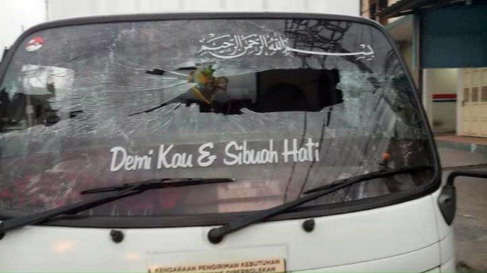 Teror Lempar Batu Hantui Pengendara di Kabupaten Semarang, Kaca Depan Tiga Mobil Pecah dalam Semalam
