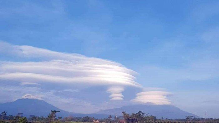 Fenomena Awan Bertopi di Gunung Merapi, Ada Hubungannya dengan Status Siaga? Begini Penjelasan BMKG