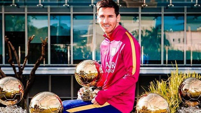 Messi Dipastikan Gagal Tambah Koleksi Ballon d'Or, Penghargaan Bola Emas 2020 Resmi Ditiadakan