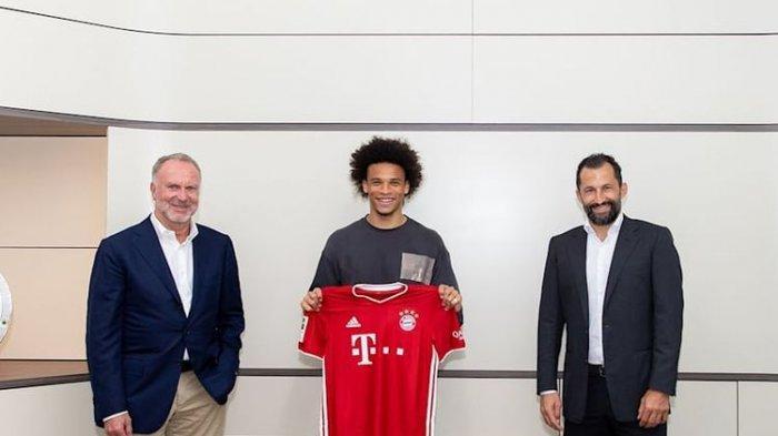 Leroy Sane Berlabuh di Bayern Muenchen, Musim Depan Gunakan Nomor Punggung Milik Coutinho