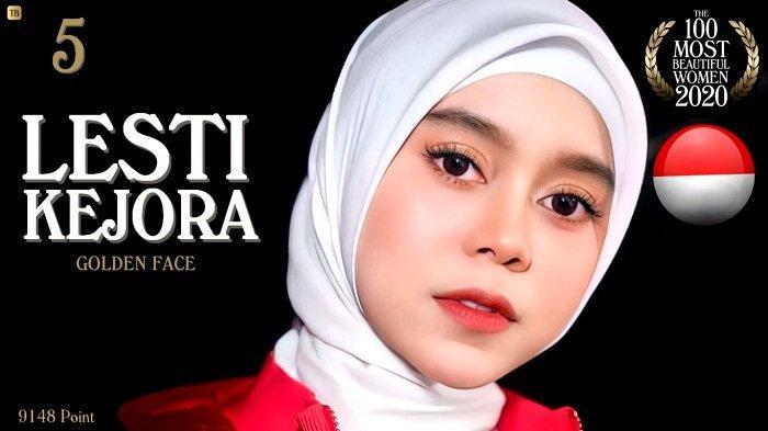 Punya Golden Face, Pedangdut Lesti Kejora Masuk 5 Besar Daftar Pesohor Wanita Tercantik di Dunia