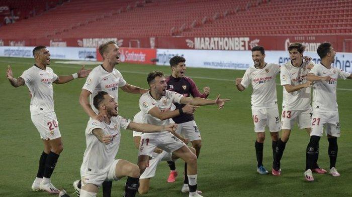 Jadwal Liga Spanyol Sabtu 27 Juni, Sevilla Vs Valladolid, Ini Link Live Streamingnya