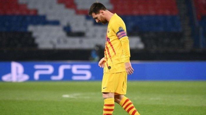 Ditahan Imbang PGS 1-1, Barcelona Tersingkir dari Liga Champions. Koeman Sindir Messi