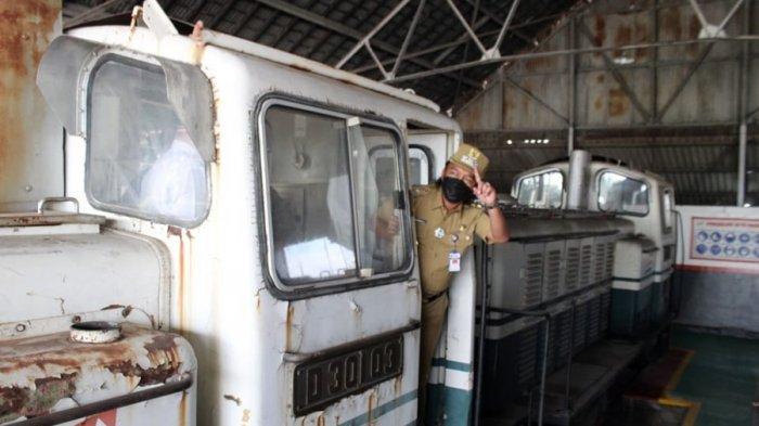Lokomotif Antik Buatan Jerman Sudah Tiba di Tegal, Paling Telat Akhir Januari Hiasi Taman Pancasila