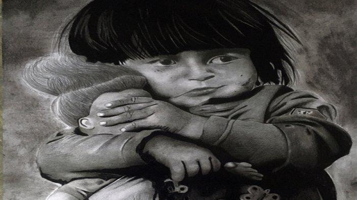 Keren Nih, Lukisan Rahma Gadis Difabel Banjarnegara Mejeng di Pameran Jogja Disabilitas Art