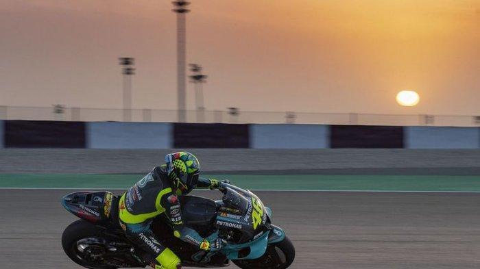 Seri Dua MotoGP Doha 2021 Digelar Tengah Malam Ini, Rossi Start di Urutan 21. Ini Link Streamingnya