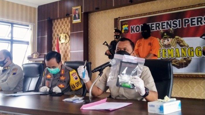 Mantan Residivis Kasus Penipuan Ini Ditangkap Seusai Ambil Paket Sabu di Kedu Temanggung