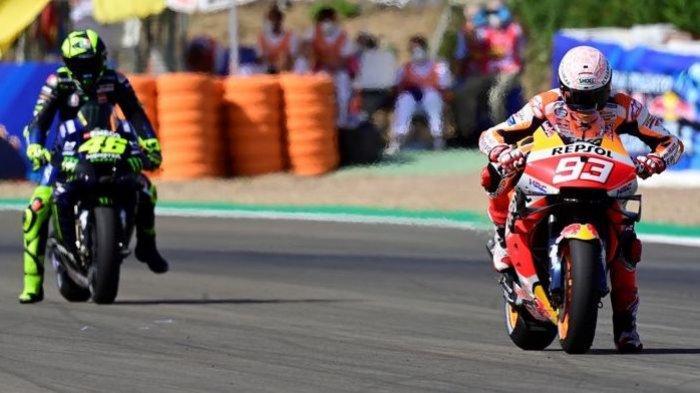 Rossi Beri Sinyal Tampil di MotoGP Eropa, Marquez Masih Tak Ada Kabar