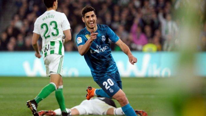 Gol Sentuhan Pertama Marco Asensio Setelah 330 Hari Cedera Bawa Real Madrid Tempel Barcelona