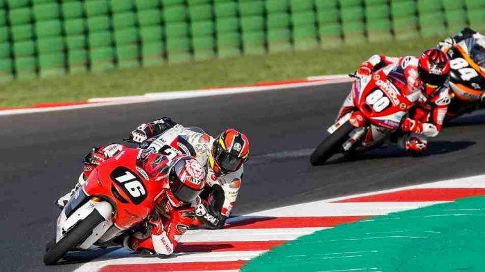Peluang Mario Makin Besar, Pebalap AHRT Ini Kini Berada di 10 Besar Klasemen CEV Moto3