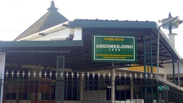 Yuks Menengok Sejarah Masjid Argomedjono Karanganyar, Konon Pendirinya Punggawa Keraton Solo