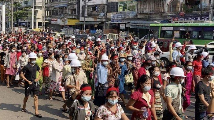 Kondisi Myanmar Memanas, 38 Demonstran Tewas dalam Sehari saat Aksi Protes Kudeta Militer