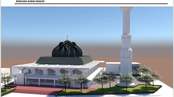 Renovasi Masjid Agung Baitunnur Pati Dimulai, Rampung Akhir Desember 2021