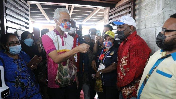 Gubernur Ganjar Pranowo: Pokoknya 'Papua I Love You Full'