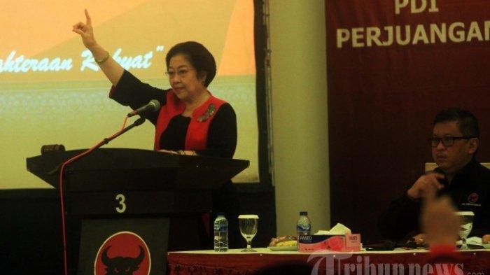 Megawati : Kalau Anaknya Tidak Mampu Jangan Dipaksa Maju, Puan Maharani Beda
