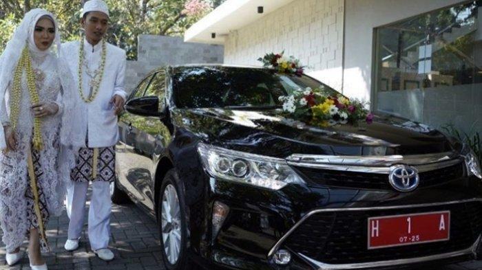 Heidy dan Danu Jadi yang Pertama, Pasangan Mempelai Dapat Fasilitas Mobil Dinas Wali Kota Semarang
