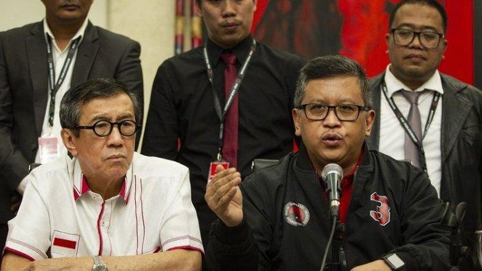 Menkum HAM Yasonna Laoly Ada di Balik Tim Hukum PDIP Lawan KPK, Ini Kata Presiden Jokowi