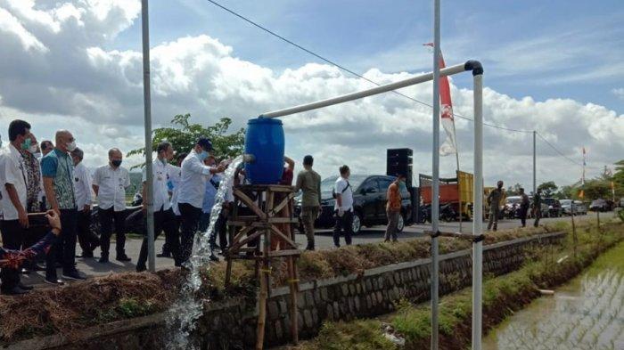 Bantu Petani di Karanganyar, Secara Bertahap Diesel Bakal Diganti Meteran Listrik Ramah Lingkungan