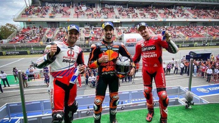 Oliveira Juarai MotoGP Catalunya, Rossi dan Marquez Kompak Gagal Finis