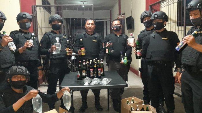 Tim Satria Polresta Banyumas Amankan Ratusan Miras Dalam Operasi Pekat di Wilayah Baturraden