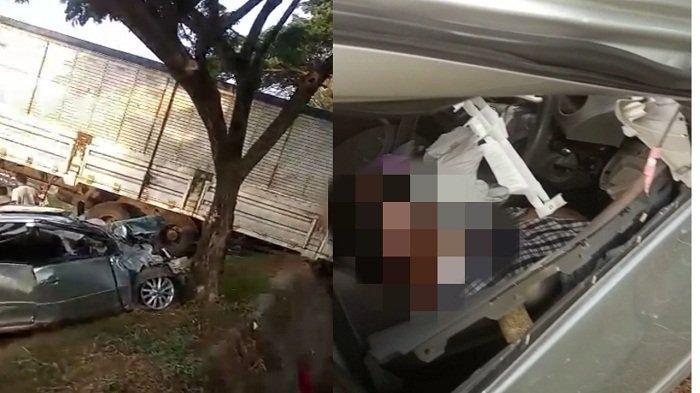 Mobil Wakil Ketua PN Rembang Kecelakaan di Pantura Pati, Adu Banteng dengan Truk Trailer