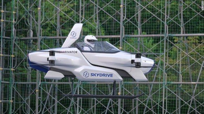 Siap Diluncurkan 2023, Mobil Terbang SkyDrive dari Jepang Bidik Pasar Indonesia