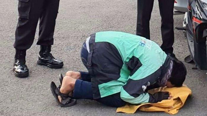 Danny Bersujud Syukur, Motornya Kini Telah Kembali, Sempat Hilang Dicuri di Tembalang Semarang