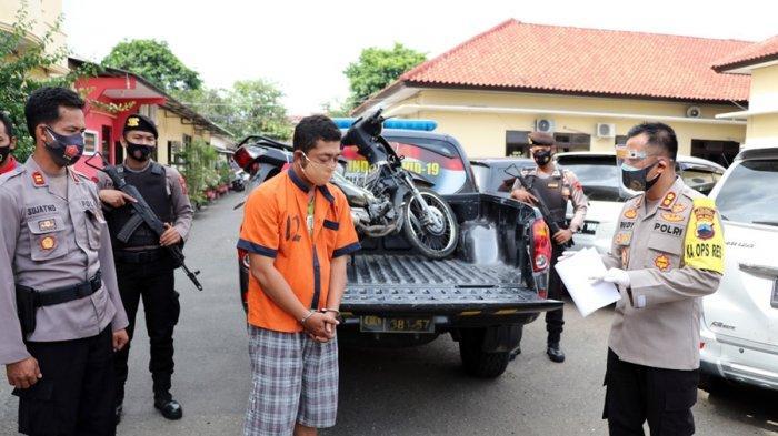 Tidak Dipinjami, Motor Pemilik Toko Gorden Dibawa Kabur, Dijual di Purbalingga