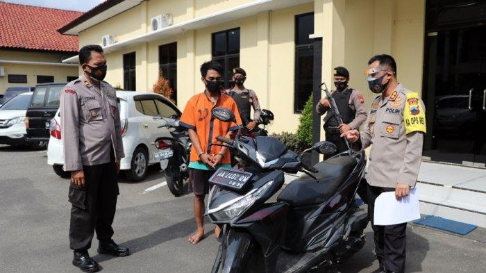 Korban Tak Curiga Jika Motornya Hendak Berpindah Tangan, Pelaku Gadai Motor Sewaan di Kebumen